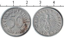 Изображение Монеты Третий Рейх 50 пфеннигов 1943 Алюминий