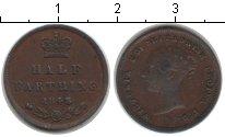 Изображение Монеты Великобритания 1/2 фартинга 1843 Медь VF
