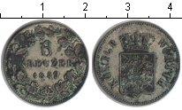 Изображение Монеты Вюртемберг 6 крейцеров 1849 Серебро VF