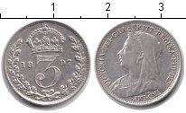 Изображение Монеты Великобритания 3 пенса 1897 Серебро XF