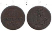 Изображение Монеты Бавария 3 крейцера 1806 Медь