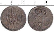 Изображение Монеты Гессен-Кассель 2 альбуса 1777 Серебро VF BR