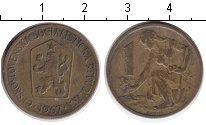 Изображение Барахолка Чехословакия 1 крона 1967