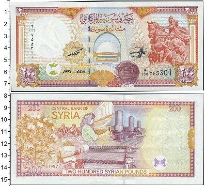 Картинка Банкноты Сирия 200 фунтов  1997