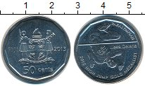 Изображение Мелочь Фиджи 50 центов 2013 Медно-никель UNC
