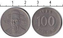 Изображение Дешевые монеты Южная Корея 100 вон 1989