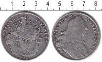 Изображение Монеты Бавария 1 талер 1771 Серебро VF Ремонт. Максимилиан