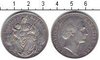 Изображение Монеты Бавария 1 талер 1871 Серебро XF Людовик II. Мадонна