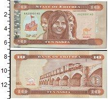 Изображение Банкноты Эритрея 10 накфа 2012  UNC-