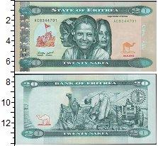 Изображение Боны Эритрея 20 накф 2012  UNC-
