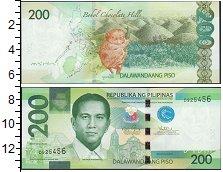 Изображение Банкноты Филиппины 200 писо 2015  UNC