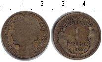 Изображение Монеты Франция 1 франк 1939