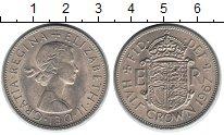 Изображение Монеты Великобритания 1/2 кроны 1967 Медно-никель UNC-