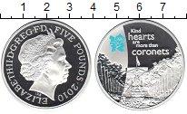 Изображение Монеты Великобритания 5 фунтов 2010 Серебро Proof Олимпиада 2012. Торж