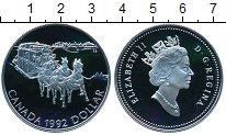 Изображение Монеты Канада 1 доллар 1992 Серебро Proof