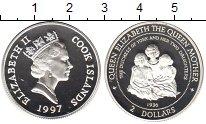 Изображение Монеты Острова Кука 2 доллара 1997 Серебро Proof-