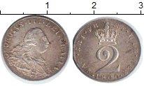 Изображение Монеты Великобритания 2 пенса 1800 Серебро XF Георг III
