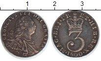Изображение Монеты Великобритания 3 пенса 1800 Серебро XF