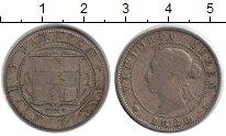 Изображение Монеты Ямайка 1/2 пенни 1880 Медно-никель VF Виктория
