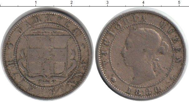 Картинка Монеты Ямайка 1/2 пенни Медно-никель 1880
