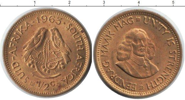Картинка Монеты ЮАР 1/2 цента  1963