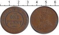 Изображение Монеты Австралия 1 пенни 1923  VF Георг V