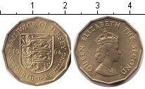 Изображение Монеты Остров Джерси 1/4 шиллинга 1964  XF Елизавета II