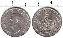 Изображение Монеты Великобритания 1 шиллинг 1939 Серебро UNC-