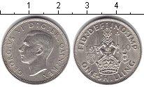 Изображение Монеты Великобритания 1 шиллинг 1940 Серебро UNC-