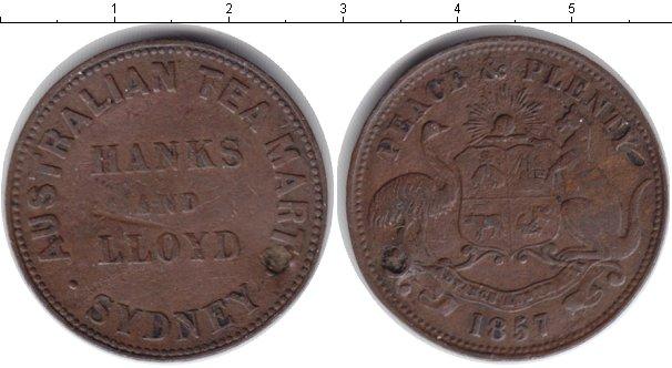 Картинка Монеты Австралия 1/2 пенни Медь 1857
