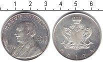 Изображение Монеты Мальта 1 фунт 1972 Серебро XF