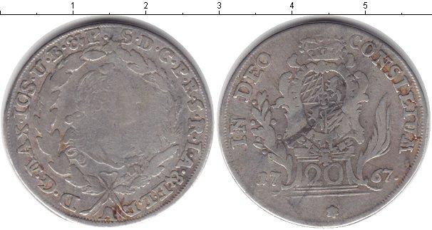 Картинка Монеты Бавария 20 крейцеров Серебро 1767