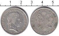 Изображение Монеты Австрия 20 крейцеров 1840 Серебро XF А. Фердинанд I