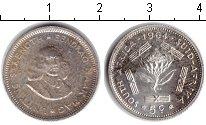 Изображение Монеты ЮАР 5 центов 1964 Серебро XF Ян ван Рибек