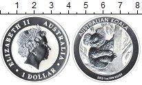 Изображение Монеты Австралия 1 доллар 2013 Серебро Proof Австралийский коала