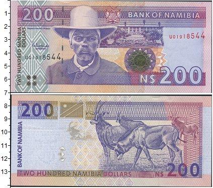 Картинка Боны Намибия 200 долларов  0