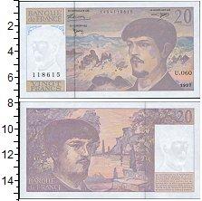 Изображение Банкноты Франция 20 франков 1997  UNC-