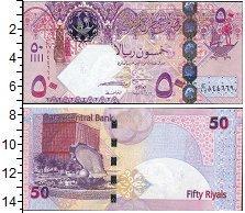 Изображение Банкноты Катар 50 риалов 0  UNC-
