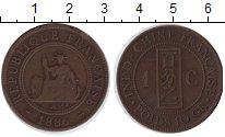 Изображение Монеты Индокитай 1 цент 1886 Медь VF