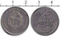 Изображение Дешевые монеты Не определено 25 бани 1966