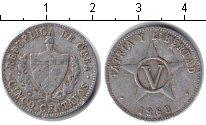 Изображение Дешевые монеты Куба 5 сентаво 1968