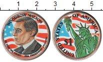 Изображение Цветные монеты США 1 доллар 2013  UNC- 28-й Президент США В