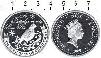 Изображение Монеты Ниуэ 2 доллара 2009 Серебро Proof- Елизавета II. 12-ть