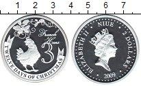 Изображение Монеты Ниуэ 2 доллара 2009 Серебро Proof- Елизавета II. 3-й де
