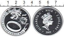 Изображение Монеты Ниуэ 2 доллара 2009 Серебро Proof- Елизавета II. 5-й де
