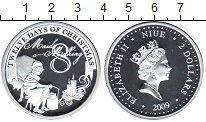 Изображение Монеты Ниуэ 2 доллара 2009 Серебро Proof- Елизавета II. 8-й де