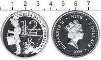 Изображение Монеты Ниуэ 2 доллара 2009 Серебро Proof- Елизавета II. 12-й д
