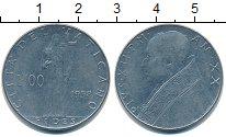 Изображение Монеты Ватикан 100 лир 1958  XF