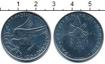 Изображение Монеты Ватикан 100 лир 1973  XF