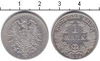 Изображение Монеты Германия 1 марка 1880 Серебро VF Е